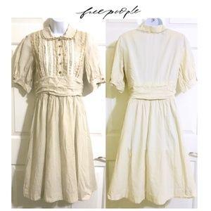 Free People Medieval Style Vintage Boho Dress